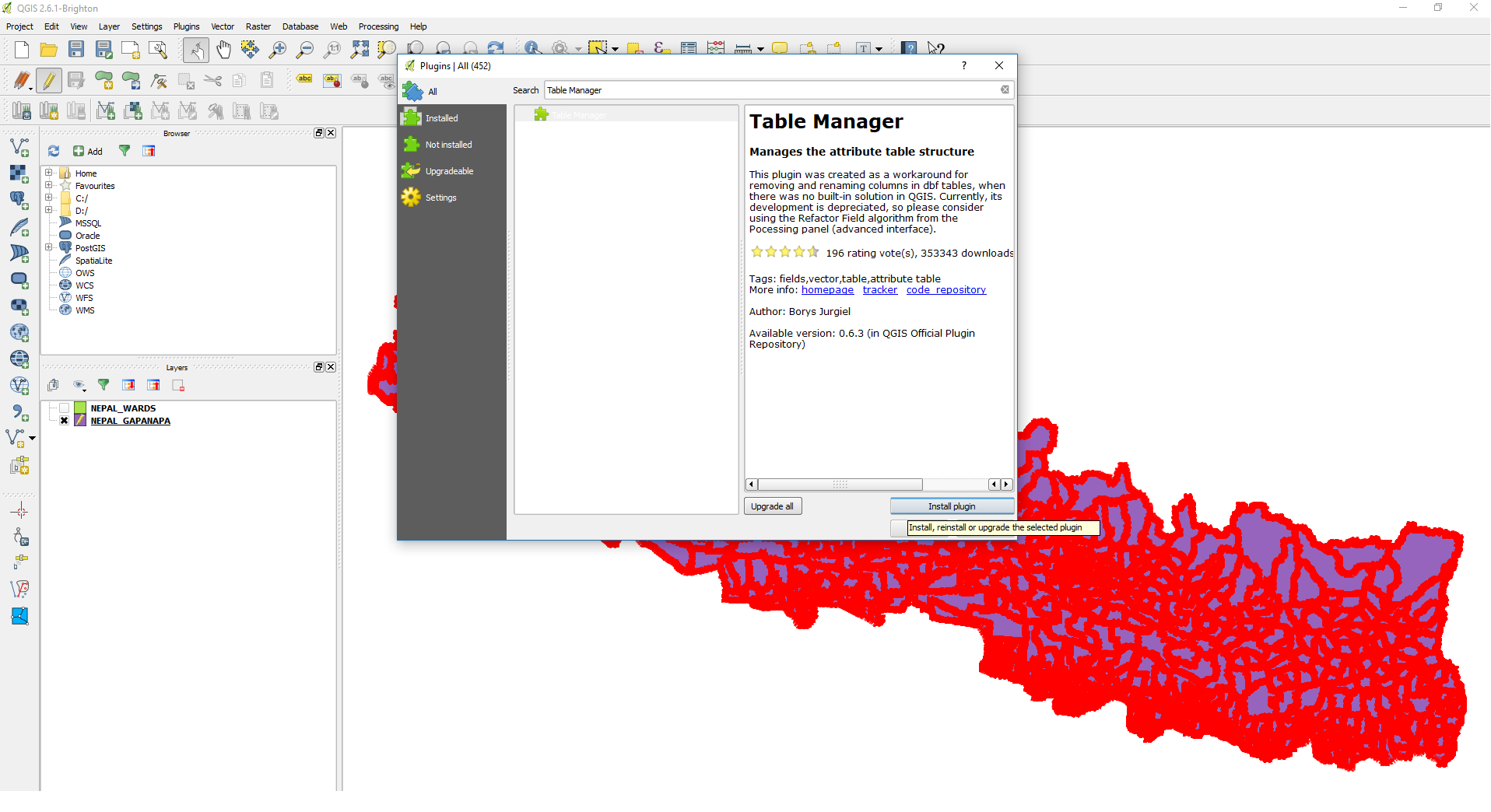 Updating Column Name and Column Value in QGIS - The Geo-ICT Blog
